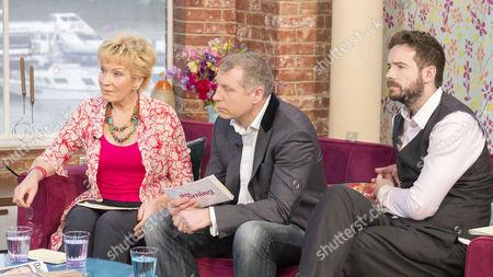 Stock Picture of Christine Hamilton, Mark Williams-Thomas and Stig Abell