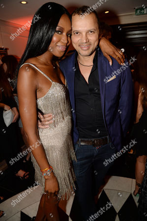 Naomi Campbell and Gerry DeVeaux