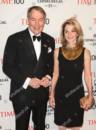 Charlie Rose and Mary King