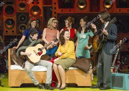 Editorial image of 'Sunny Afternoon' musical at the Hampstead Theatre, London, Britain - 28 Apr 2014