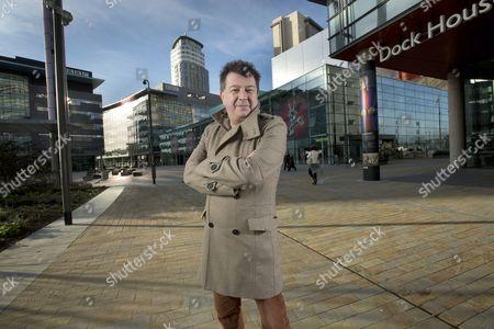 Editorial picture of Stuart Maconie at MediaCityUK, Manchester, Britain - 09 Dec 2013