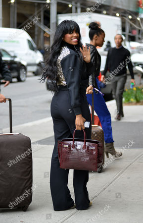 Editorial image of Porsha Stewart out and about, New York, America - 29 Apr 2014