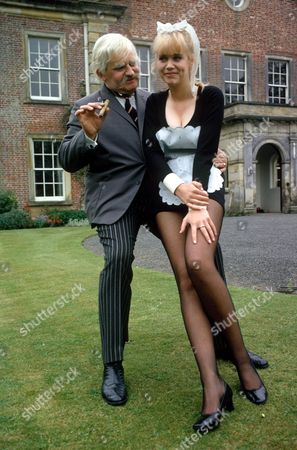 Ronnie Barker (as Lord Rustless) and Moira Foot (as Effie the maid)