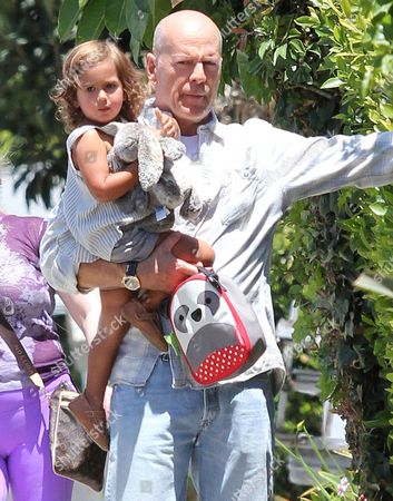 Bruce Willis and Mabel Ray Willis