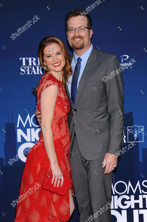 Stock Picture of Sarah Drew and Peter Lanfer