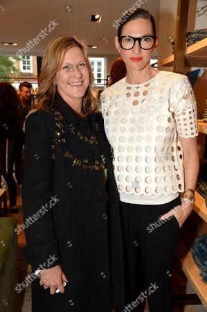 Jane Bruton and Jenna Lyons