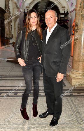 Stock Photo of Zara Simon and Peter Simon