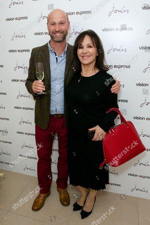 Tom Joule and Arlene Phillips