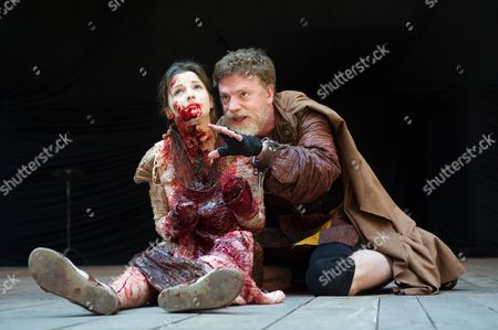 Flora Spencer-Longhurst (Lavinia), William Houston (Titus Andronicus)