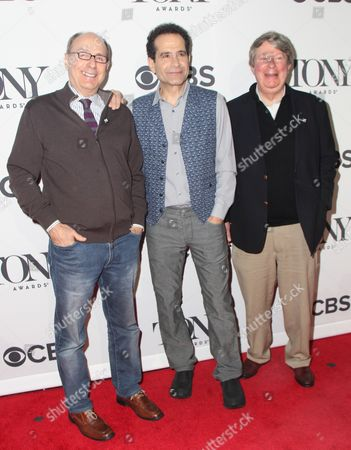 Stock Picture of James Lapine, Tony Shalhoub, Andre Bishop