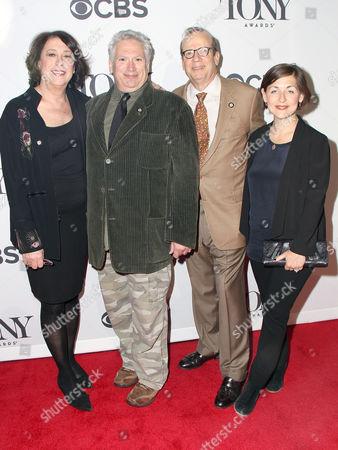 Lynne Meadow, Harvey Fierstein, Barry Grove, Mandy Greenfield