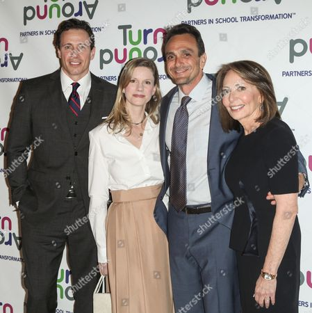 Chris Cuomo, Katie Wright, Hank Azaria and Dr. Pamela Cantor