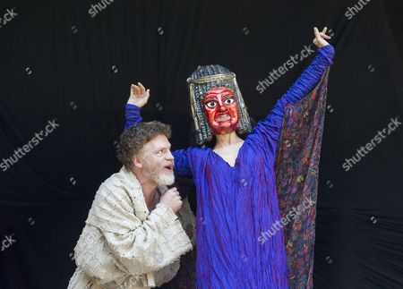 William Houston as Titus Andronicus, Indira Varma as Tamora