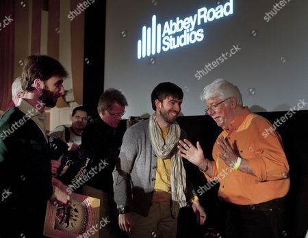 Ken Scott in discussion with Beatles fans
