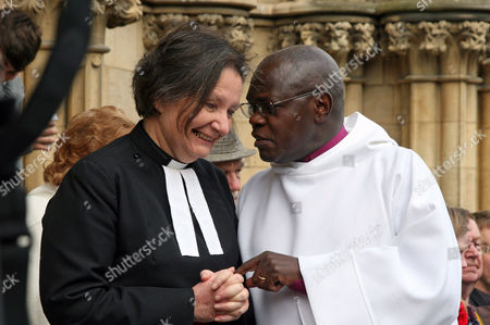 The Dean of York, The Very Reverend Vivienne Faull and The Archbishop of York, Dr John Sentamu
