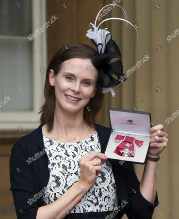 Karen Atkinson who received an MBE for services to netball.