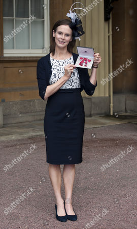 Stock Image of Karen Atkinson who received an MBE for services to netball.