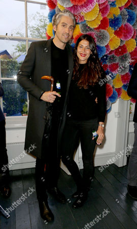 Stock Picture of George Lamb and Karima Adebibe