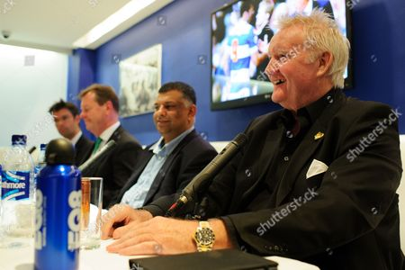 Former QPR player Rodney Marsh answers questions at a QPR Fan Forum