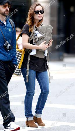 Jason Sudeikis and Olivia Wilde with son Otis Alexander Sudeikis