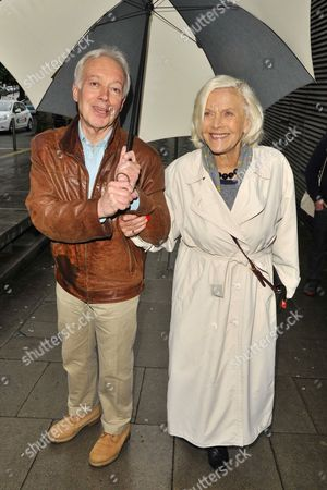Stock Picture of Nickolas Grace and Honor Blackman