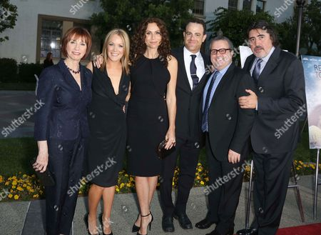 Stock Picture of Kathy Baker, Andrea Anders, Minnie Driver, Paul Adelstein, Sean Hanish and Alfred Molina