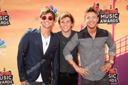 Keaton Stromberg, Wesley Stromberg and Drew Chadwick of Emblem3