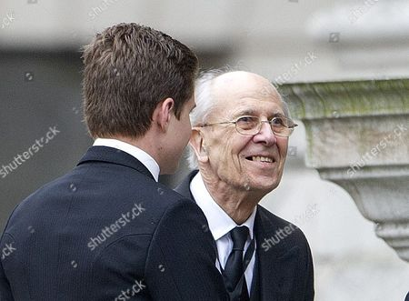 Sir Norman Tebbit Attending The Funeral Of Baroness Thatcher At St Paul's Cathedral In London Attended By Family And Friends And Many Former Parliamentary Colleagues. 17.4.13.
