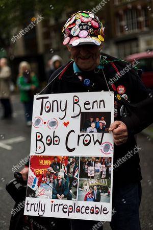 Special tribute to Bob Crow and Tony Benn.