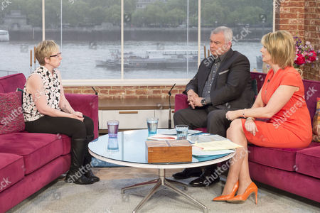 Becky Deas with Eamonn Holmes and Ruth Langsford
