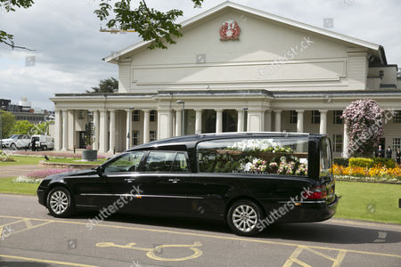 Stock Image of Hearse