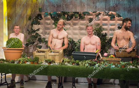 The Grubby Gardeners - Andrew Wain, Andrew Lane, Darran Jacques and Michael Perry.