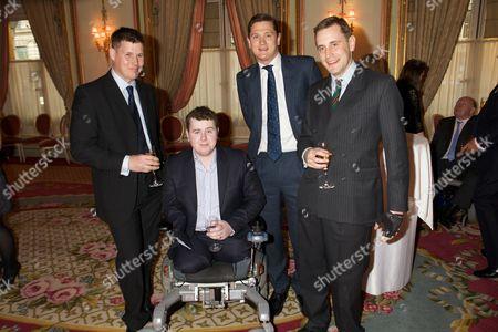 Kevin long, Sapper Matt Weston, Captain Ed Addington & Lt Alex Horsfall