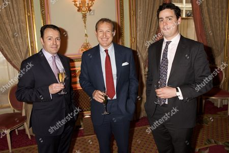 Major Pete Flynn, Major David Bevan and Freddy Lloyd George