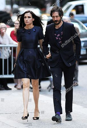 Editorial photo of L'Wren Scott Memorial Service at St. Bartholomew's Church, New York, America - 02 May 2014