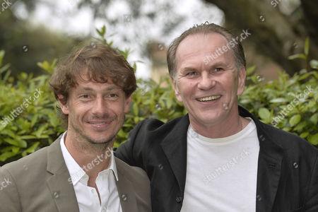Stock Picture of Giorgio Pasotti and Aleksei Guskov