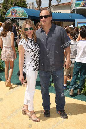 James Belushi and wife Jennifer Sloan