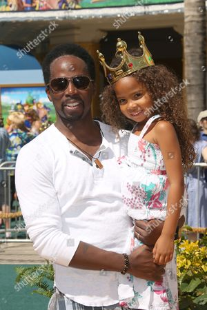 Harold Perrineau Jr. and daughter Wynter Aria