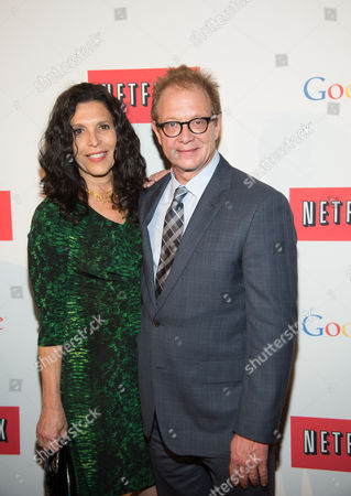 Stock Photo of Linda Lowy and Jeff Perry