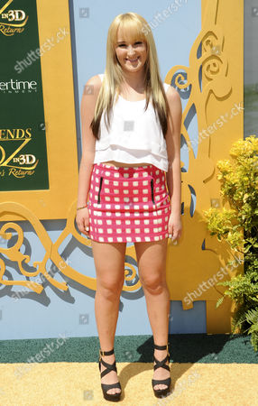 Editorial picture of 'Legends Of OZ: Dorothy's Return' film premiere, Los Angeles, America - 03 May 2014