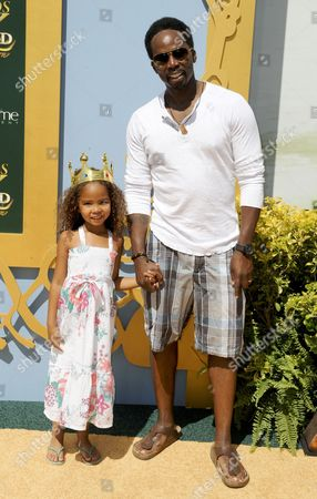 Harold Perrineau and daughter Wynter Aria