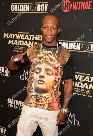Editorial image of 'The Moment: Mayweather vs Maidana' VIP Pre-Fight party at the MGM Grand, Las Vegas, America - 03 May 2014
