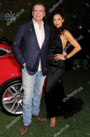Christopher Guy Harrison and Sofia Milos
