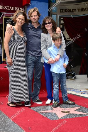 Editorial picture of Sally Field honored with a star on the Hollywood Walk of Fame, Los Angeles, America - 05 May 2014