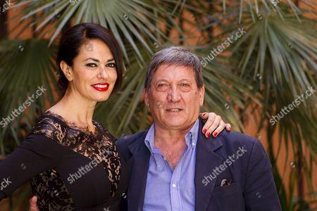 Maria Grazia Cucinotta and Tony Sperandeo