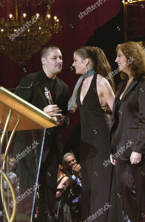 JEAN-PIERRE JEUNET RECEIVES PEOPLE'S CHOICE BEST DIRECTOR FROM MARIE BAUMER