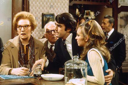 'Please Sir' TV - 1970 - Joan Sanderson, Erik Chitty, John Alderton and Jill Kerman