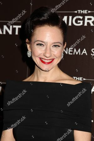 Editorial image of 'The Immigrant' film premiere at the Cinema Society, New York, America - 06 May 2014