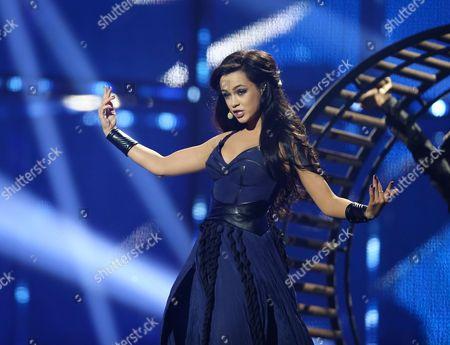 """Mariya Yaremchuk representing Ukraine performs """"Tick-Tock"""""""