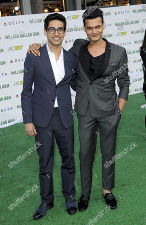 Suraj Sharma and Madhur Mittal